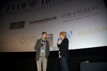 CJ Gardella at Evolution film festival